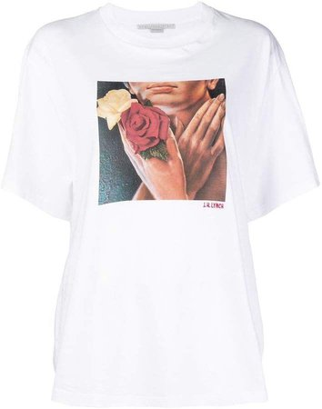 STELLA MCCARTNEY J.H. Lynch print T-shirt