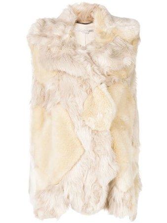 Stella McCartney Faux Fur Vest
