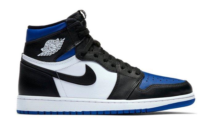 Jordan 1 blue toe