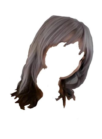 grey black hair