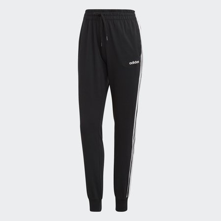 adidas Essentials 3-Stripes Pants - Black | adidas US