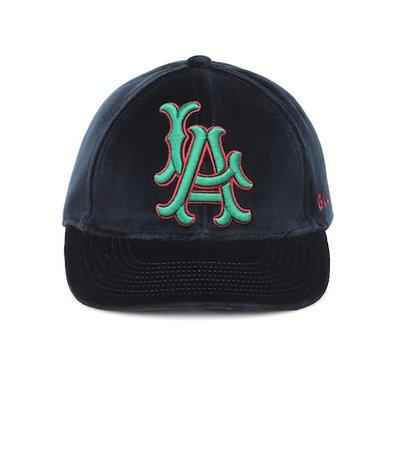 LA Angels velvet baseball cap