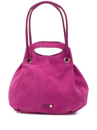 Liu Jo Logo Patch Tote Bag AA0250P0008 Pink   Farfetch