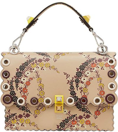 Kan I floral print shoulder bag