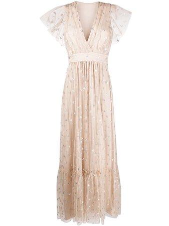 Temperley London Glitter Detail Maxi Dress Ss20 | Farfetch.Com