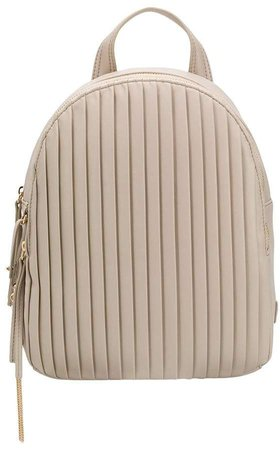 Small Pleated Backpack
