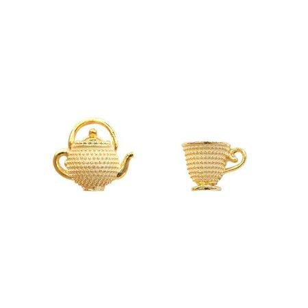teacup earring