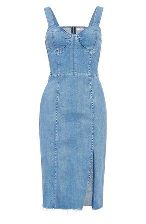 GRLFRND Gianna Denim Body-Con Dress | Nordstrom