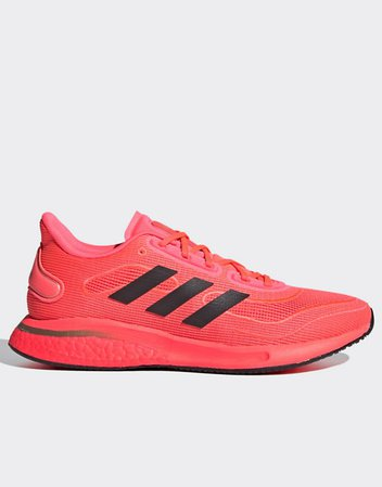 adidas Running Supernova sneakers in pink | ASOS