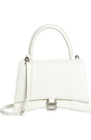 Balenciaga Hourglass Leather Top Handle Bag | Nordstrom