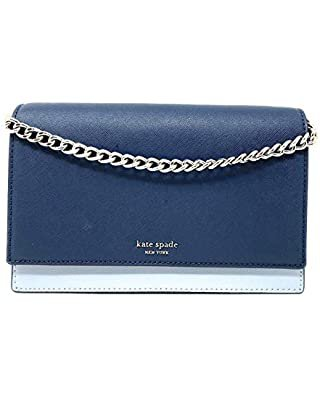 Kate spade new york Cobble Hill Carson Cross Body Bag,Grace Blue,One Size: Clothing