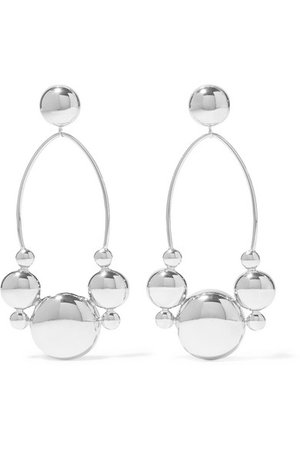 Isabel Marant | Silver-plated earrings | NET-A-PORTER.COM