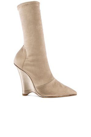 SEASON 8 Stretch Satin Wedge Ankle Boot