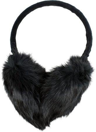 Genuine Rabbit Fur Earmuffs