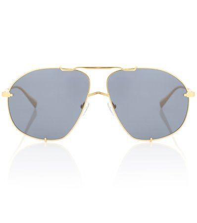 X Linda Farrow Telma Sunglasses, The Attico