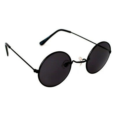 Oversized Round Circle Lens Style Sunglasses - Black | eBay