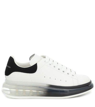 Leather Sneakers - Alexander McQueen | Mytheresa