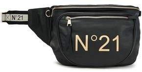 N21 Logo-print Leather Belt Bag