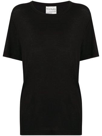 Acne Studios Logo Tag T-shirt - Farfetch