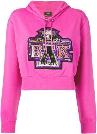 x Beyonce sequin-embellished hoodie