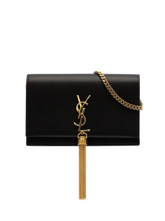 Saint Laurent Kate Tassel Chain Wallet - Farfetch