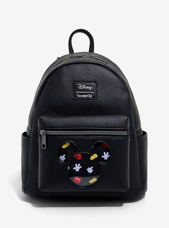 Loungefly Disney Mickey Mouse Pin Collector Mini Backpack