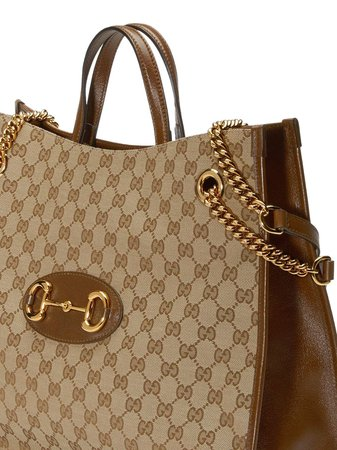Gucci Gucci 1955 Horsebit Tote Bag - Farfetch