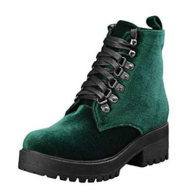 emerald green boots - Google Search