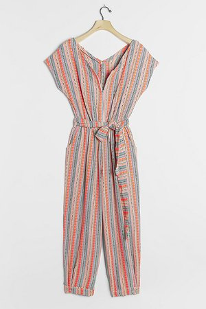 Alida Cut-Out Jumpsuit | Anthropologie