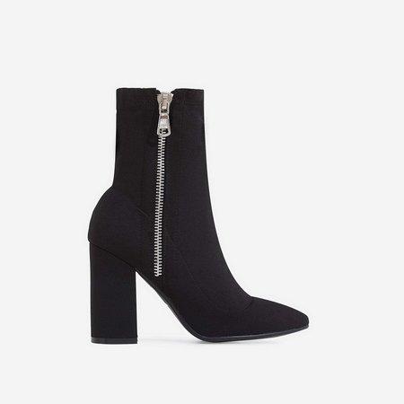 tana Block Heel Boots