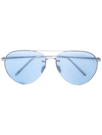 Linda Farrow aviator style sunglasses