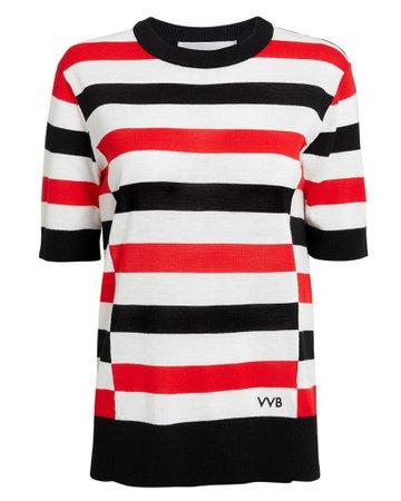 Striped Boy Knit Top