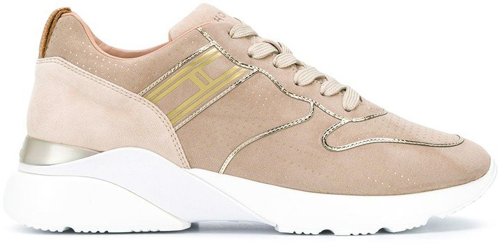 Low-Top Leather Sneakers