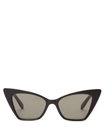 Victoire cat-eye sunglasses | Saint Laurent | MATCHESFASHION.COM US