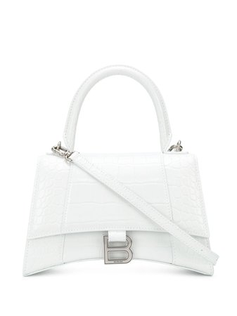 Shop Balenciaga small Hourglass tote bag with Express Delivery - FARFETCH