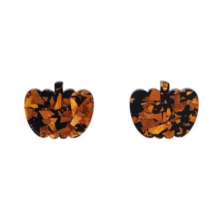 pumpkin earrings - Google Search