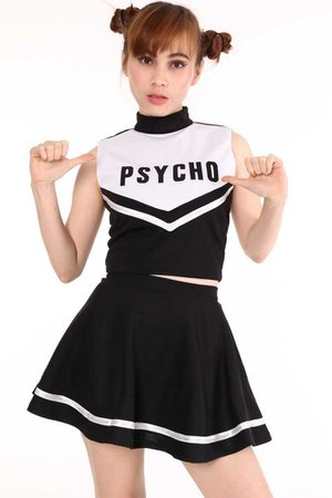 Psycho Cheerleader Outfit