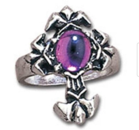 EXTREMELY RARE Alchemy Gothic Fleury Cross Ring | Etsy