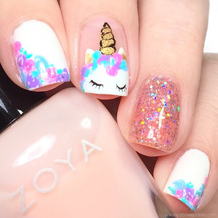 unicorn nails - Google Search