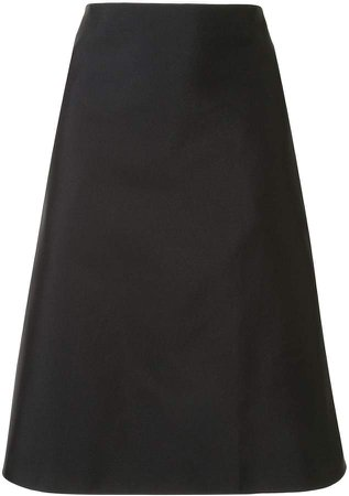 Knee-Length A-Line Skirt
