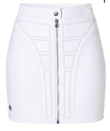Philipp Plein White Skirt