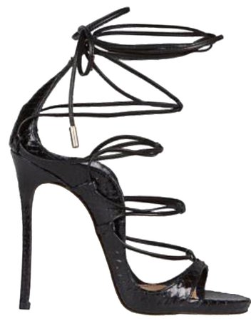 Dsquared2 Sandal Heel Black