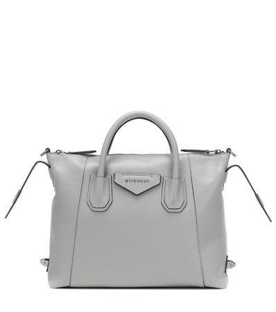 Antigona Small Leather Tote - Givenchy | Mytheresa