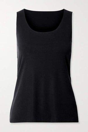 Net Sustain Aurora Pure Stretch-modal Jersey Tank - Black
