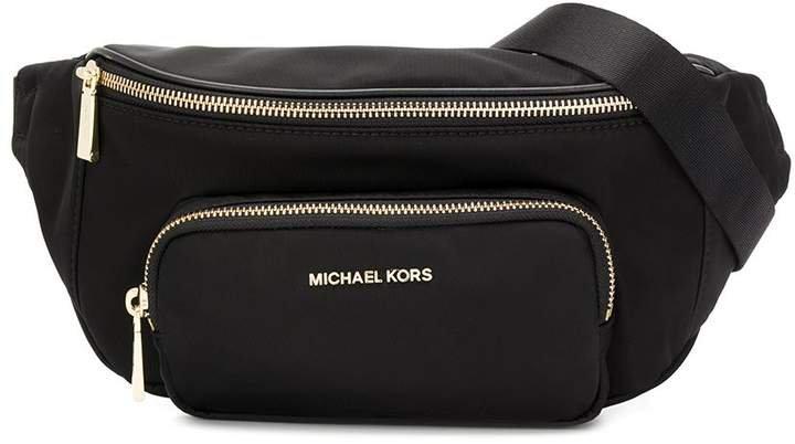 logo pouch shoulder bag