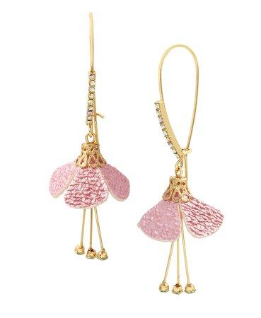 Betsey Johnson Flower Dangle Earrings & Reviews - Earrings - Jewelry & Watches - Macy's