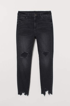 H&M+ Embrace Shape Ankle Jeans - Black