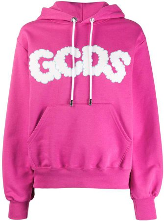 cloud logo hooded sweatshirt