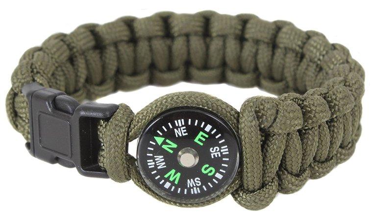 Compass Survival Bracelet Navigator's