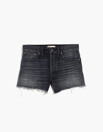 Relaxed Denim Shorts in Calverley Wash blue